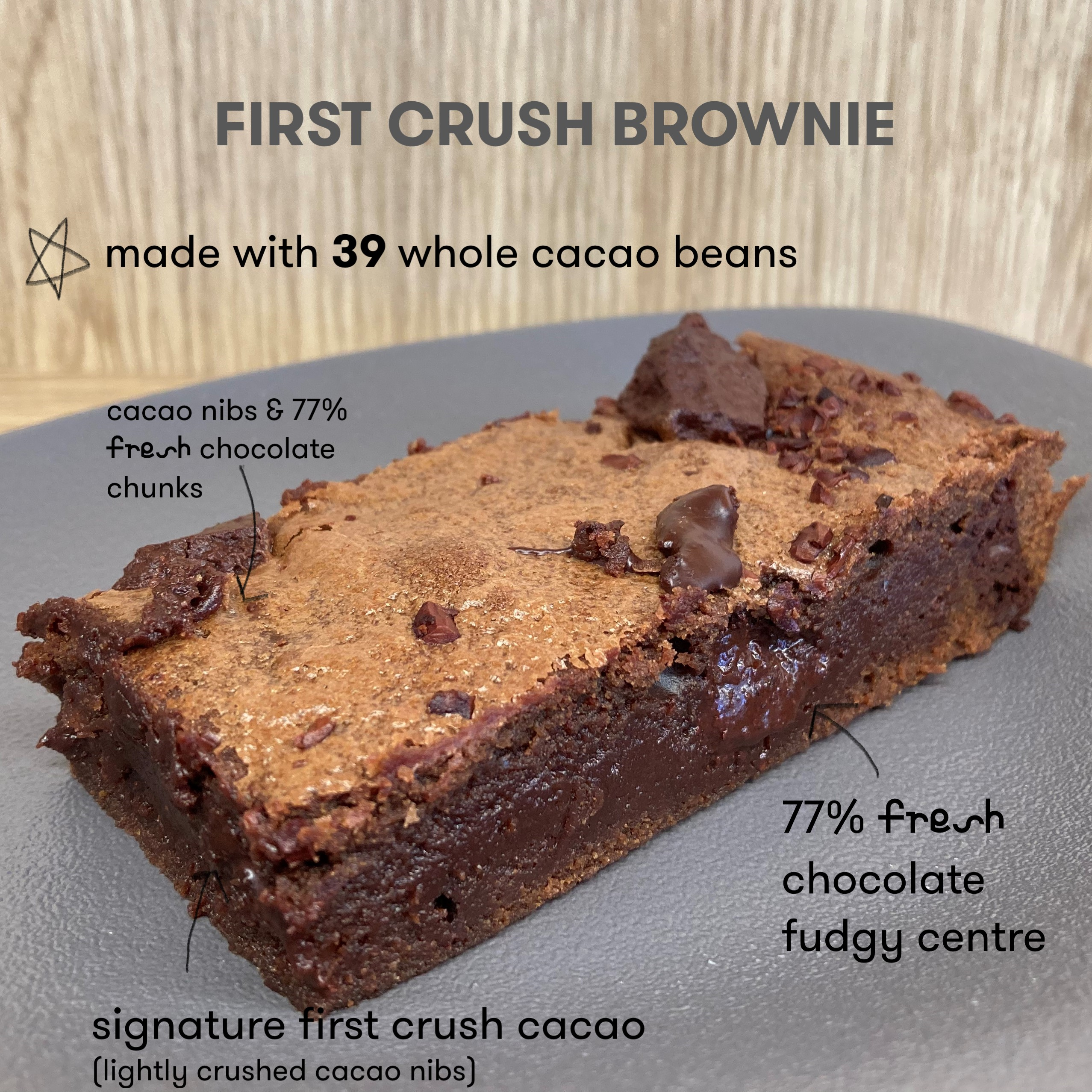 First crush brownie
