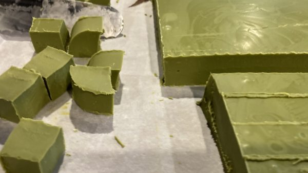 White Matcha cutting